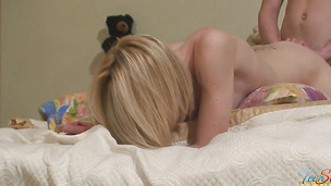 Classy bimbo Alice is incredible and enjoys some wild action
